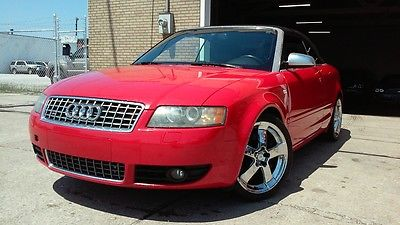 Audi : S4 S4 2005 audi s 4 6 speed awd 2 dr convertible 340 hp 2 year warranty 04 05 06