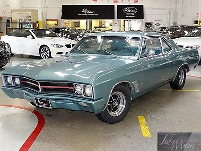 Buick : Skylark 2 door Sedan Post Car 1967 buick skylark gs 400 numbers matching 400 v 8 engine