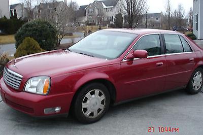 Cadillac : DeVille  4 door Cadillac Deville 2004 4door