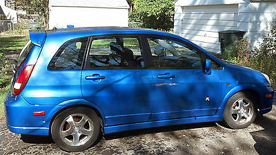 Suzuki : Aerio SX 2004 blue hatchback original owner lots of new parts