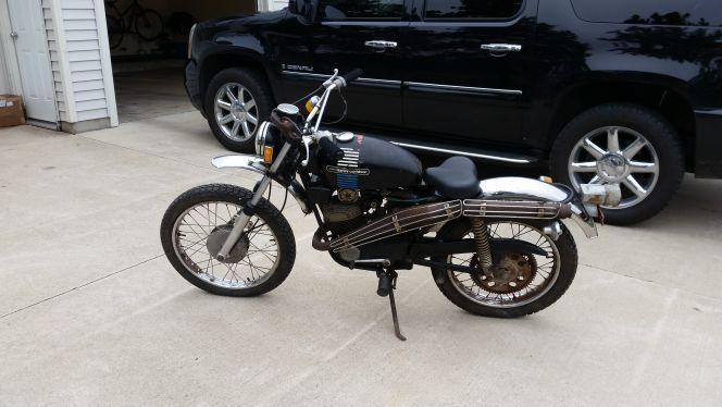 1973 Harley Davidson ENDURO / aermacchi 1973 cc?
