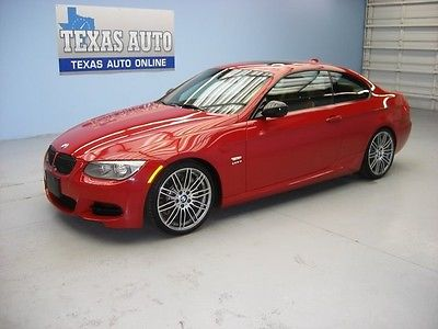 BMW : 3-Series 335 3 35is WE FINANCE! 2011 BMW 335is COUPE TURBO ROOF NAV PREMIUM COLD W 45K MI TEXAS AUTO