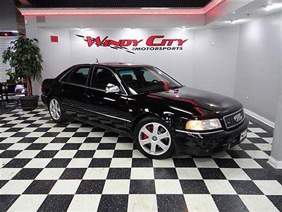 Audi : S8 4dr Sedan quattro AWD Automatic 2002 audi s 8 v 8 4.2 quattro new audi trade milltek brilliant black over black