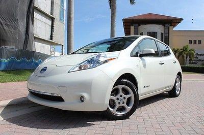 Nissan : Leaf SL 2012 nissan leaf sl zero emissions nav heated seats rear cam xm 1 fl owner