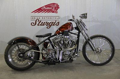 Custom Built Motorcycles : Bobber 2008 custom springer chopper hd motor quality build reduced sturgis