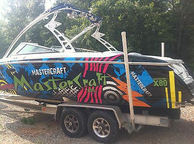 One of a kind 2004 Mastercraft X80 yacht