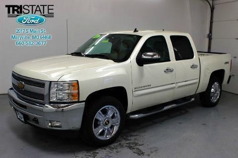 2013 CHEVROLET SILVERADO 1500 4 DOOR CREW CAB SHORT BED TRUCK