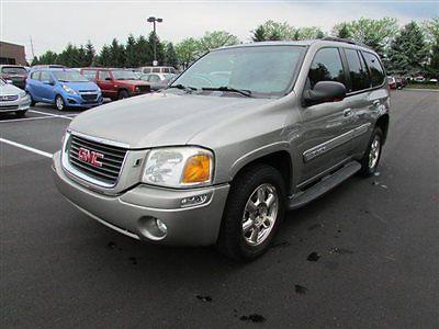 GMC : Envoy 4dr 4WD SLT 4 dr 4 wd slt suv automatic gasoline 4.2 l straight 6 cyl silver