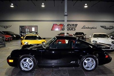 Porsche : 964 RS America 1993 porsche 911 rs america 964 19 k miles just serviced air option