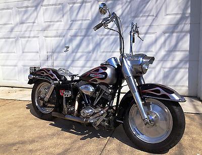Harley-Davidson : Touring 1975 harley davidson shovelhead flh custom