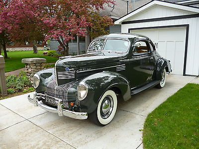 Chrysler : Royal 2 door coupe 1939 chrysler royal 2 dr buisness coupe
