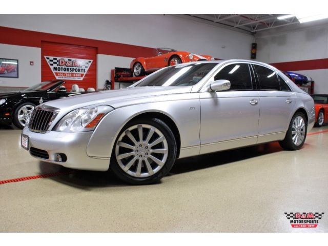 Maybach 57S MAYBACH 57S JUST SERVICED NEW TIRES REAR TABLES SOLAR PANEL REAR CURTAIN WOW
