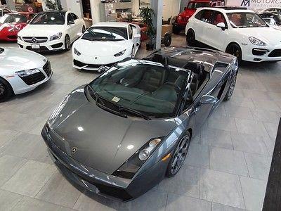 Lamborghini : Gallardo Manual FRESH PPI FROM LAMBO DEALER. CAR IS A1 CONDITION NO ISSUES RARE 6 SPD MANUAL 9K