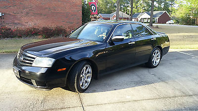 Infiniti : M45 Sport 2003 infiniti m 45 obsidian black exterior tan leather interior