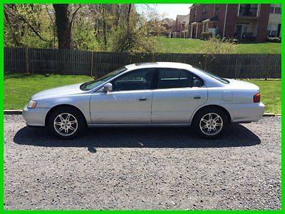 Acura : TL 3.2 2001 acura tl 3.2 low 81 k miles black leather moonroof clean quick sale