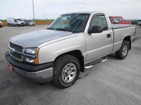 2005 CHEVROLET SILVERADO 1500 2 DOOR REGULAR CAB TRUCK