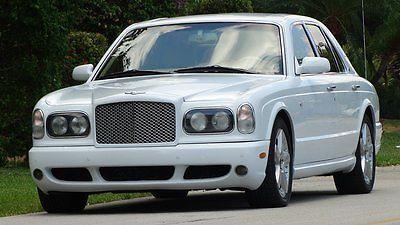 Bentley : Arnage ARNAGE T 2004 bentey arnage t ultra luxury sedan 29 000 fla miles in fantastic condition