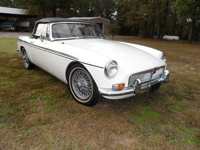 MG : MGB Base 1964 mgb 3 main pull handle steel dash wire wheels