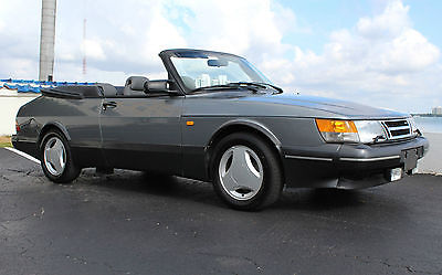 Saab : 900 SE SPG TURBO CONVERTIBLE A RARE BEAUTY WITH ONLY 76K MILES 5-SPEED SPG / AERO PKG. CLEAN CARFAX SERVICED