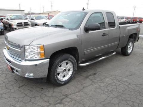 2013 CHEVROLET SILVERADO 1500 4 DOOR EXTENDED CAB TRUCK