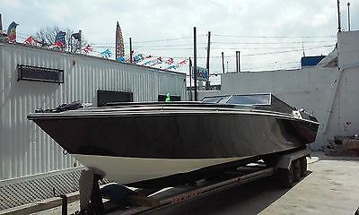 1991 Predator powerboat, Triple Mercury Racing outboards, READ AD! CHEAP!!