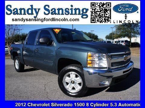 2012 CHEVROLET SILVERADO 1500 4 DOOR CREW CAB SHORT BED TRUCK