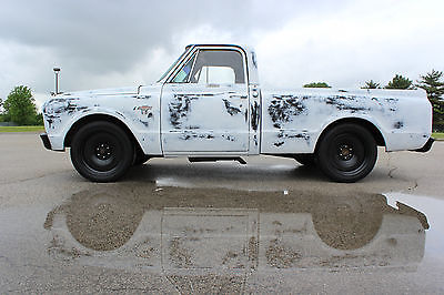 Chevrolet : C-10 Short Bed 1967 c 10 short bed swb 20 steel wheels 350 ci automatic chevy truck a c cab