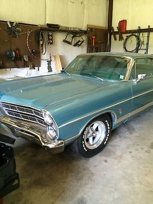 Ford : Galaxie Fast Back 1967 galaxie 500 fast back