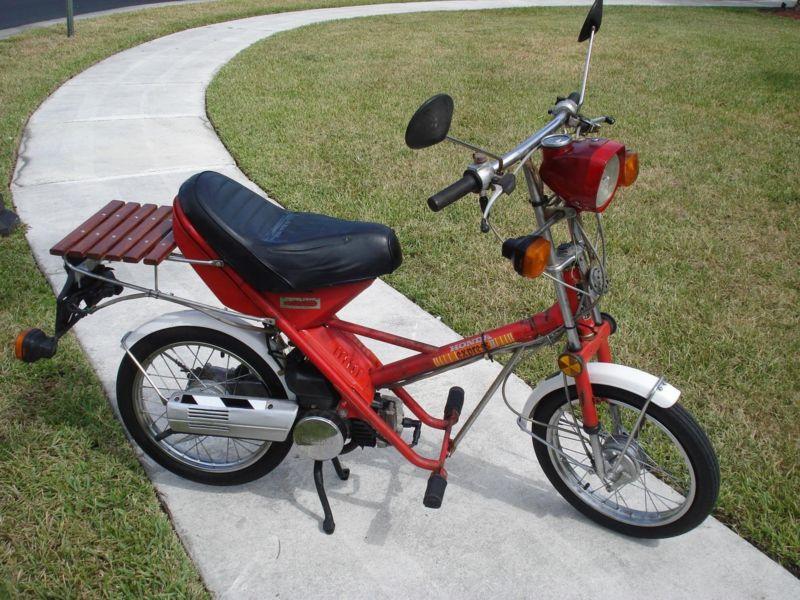 Running Antique Honda NA50 EXPRESS II 1981 Moped/Scooter