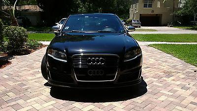 Audi : S4 QUATTRO 2008 audi s 4 quattro 4.2 l v 8 apr exhaust carbonio air intake 6 speed manual