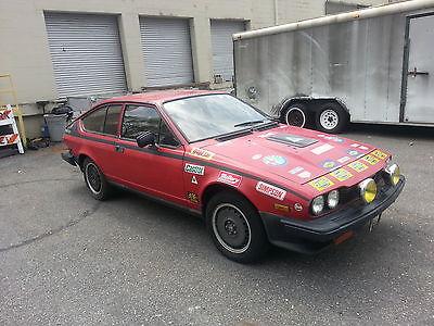 Alfa Romeo : GTV GTV 6 1982 alfa romeo gtv 6 2.5 balocco s e red non running parts or project car