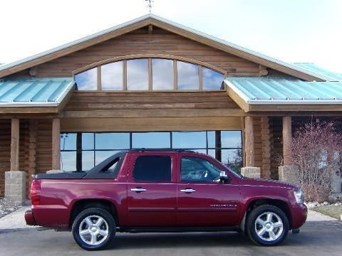 2008 CHEVROLET AVALANCHE 4 DOOR CREW CAB SHORT BED TRUCK