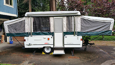 2002 Coleman Santa Fe Tent Trailer plus Accessories & 2002 Coleman Tent Trailer RVs for sale