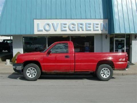 2006 CHEVROLET SILVERADO 1500 2 DOOR LONG BED TRUCK