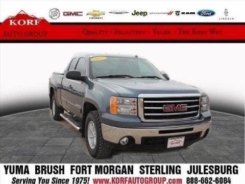 2012 GMC SIERRA 1500 4 DOOR EXTENDED CAB TRUCK