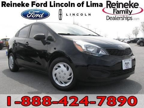 2014 KIA RIO 4 DOOR SEDAN