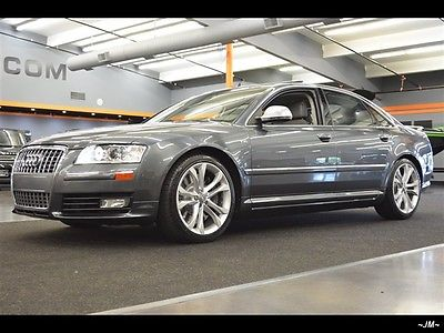 Audi : S8 RARE S8 QUATTRO V10 ONLY 50K ORIG MILES LOADED B&O 2008 audi s 8 rare s 8 quattro v 10 only 50 k orig miles loaded b o automatic 4 door