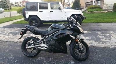 Kawasaki : Ninja 2009 kawasaki ninja 650 r like new only 2 k miles