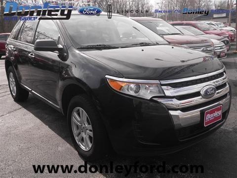 2012 FORD EDGE 4 DOOR SUV