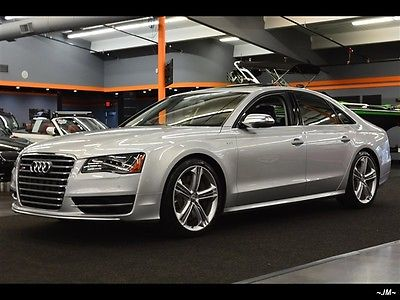 Audi : S8 4.0T V8 QUATTRO 6K MLS WARRANTY 1OWN FULL LEATHER 2013 audi s 8 4.0 t v 8 quattro 6 k mls warranty 1 own full leather 8 speed auto 4 do