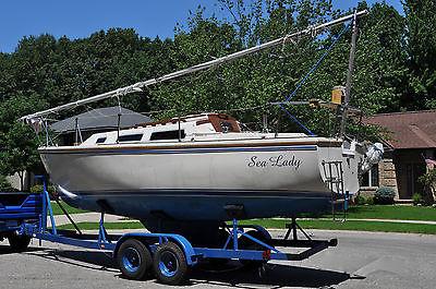1984 25' Catalina Sailboat-Mariner outboard engine
