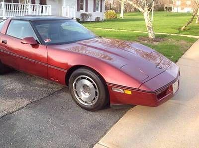 Chevrolet : Corvette Base Hatchback 2-Door 1987 chevrolet corvette base hatchback 2 door 5.7 l