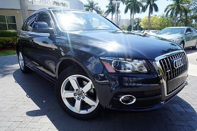 Audi : Q5 3.2L Premium Plus navigation plus pack bang & olufsen 1 owner non smoker clean carfax florida car