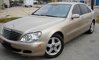 Mercedes-Benz : S-Class Sedan 4 Door 2004 mercedes benz s class s 430 v 8 clean carfax low miles accident free