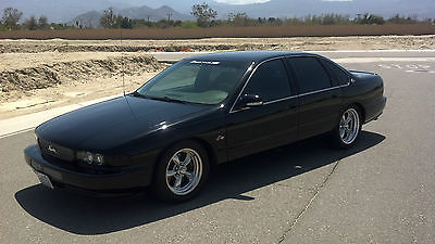 Chevrolet : Impala SS 1996 chevrolet impala 1000 hp stroker supercharged 6 speed manual