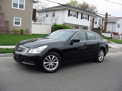 Infiniti : G37 X 3.7 l v 6 awd loaded extra clean just 55 k miles runs drives great save