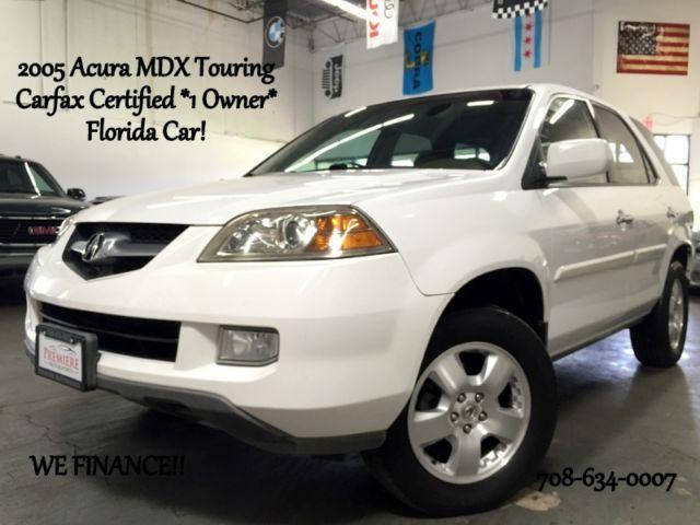 Acura : MDX Touring AWD *Carfax Certified* Florida SUV Touring AWD *We Finance!*