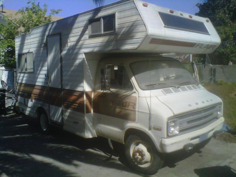 Dodge Flair Motorhome 1978 RVs for sale