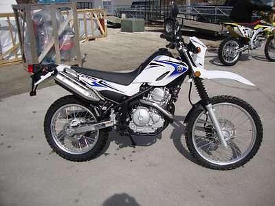 Yamaha : XT 2012 yamaha xt 250 enduro motorcycle dual purpose bike warranty s n 0758