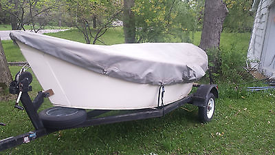 Drift Boat HDPE BoulderBoatWorks Style 3 Seat 14.6 ft long 66 in. wide